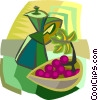 Vector Clip Art graphic  of a food