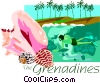 the grenadines Vector Clip Art image