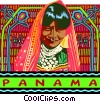 Vector Clipart graphic  of a panama