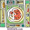 Vector Clip Art graphic  of a Cooking utensils