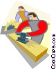 carpentry Vector Clip Art graphic