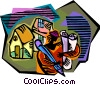 Vector Clip Art picture  of an architect