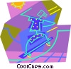 skateboarder Vector Clip Art picture