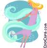 dancing Vector Clip Art image