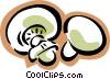 mushrooms Vector Clipart illustration