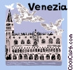 Vector Clipart illustration  of a Palazzo Ducale
