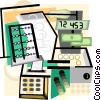 Vector Clip Art picture  of a mathematics