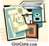 pharmacy, prescription Vector Clipart image