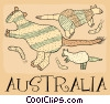 Australia Vector Clipart illustration