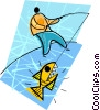 fishing Vector Clipart graphic