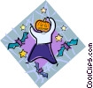 Vector Clipart picture  of a Halloween