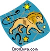 Vector Clipart illustration  of an astrology sign