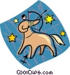 astrology sign, Sagittarius Vector Clipart picture