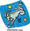 Vector Clip Art picture  of an astrology sign