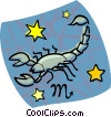 Vector Clip Art graphic  of an astrology sign