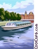 Vector Clipart illustration  of an Amsterdam sightseeing