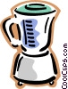 Vector Clip Art image  of a blender