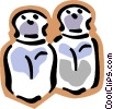 salt & pepper shakers Vector Clipart graphic