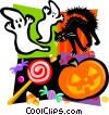 Vector Clipart graphic  of a Halloween