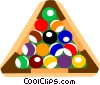 Vector Clipart graphic  of a Pool balls