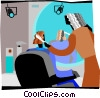 television production Vector Clipart picture