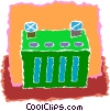 battery Vector Clip Art image