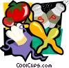 Vector Clipart illustration  of a cooking motif