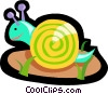 snail Vector Clipart picture