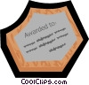plaque Vector Clipart illustration