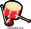 drum Vector Clipart illustration