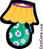 Vector Clipart picture  of a lamp