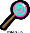 Lollipops Vector Clipart illustration