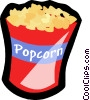 popcorn Vector Clip Art graphic