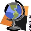 globe Vector Clipart illustration
