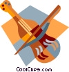 violin Vector Clipart picture