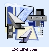 Vector Clipart graphic  of a construction