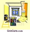 renovations Vector Clipart illustration