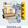 carpentry tools Vector Clipart picture