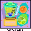 Vector Clipart graphic  of a blender