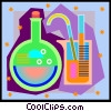 Vector Clip Art picture  of a chemistry