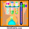 Vector Clipart image  of a science