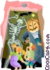 Vector Clip Art image  of a Halloween