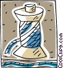 Vector Clipart picture  of a thread on spool