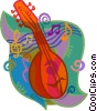 mandolin Vector Clipart graphic