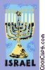 Jewish Menorah Vector Clip Art graphic
