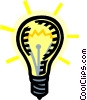 light bulb Vector Clipart illustration