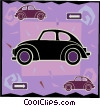 Vector Clipart picture  of a car