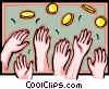 Vector Clipart picture  of a money