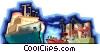 ship, shipping Vector Clipart graphic
