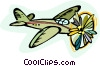 Vector Clip Art picture  of a plane